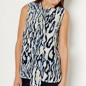 EQUIPMENT FEMME Poppy SILK Shirt MARSHMALLOW Top